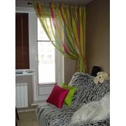 Текстильный дизайн окон. фото