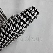 Натуральная кожа для обуви и кожгалантереи белая с принтом(рисунком) арт. СК 2082 фото