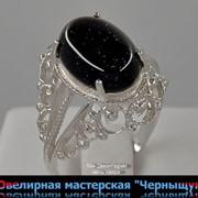 Серебряное кольцо 194-2 фото