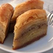 БАКЛАВА (пахлава) сербская с грецким орехом и сливочным маслом