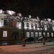 Архитиктурное освещение зданий фото