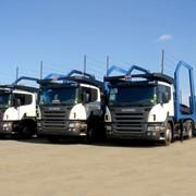 Автовоз Scania P340LA4x2HLB LOHR фото