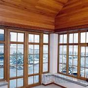 Пластиковое окно для дома раздвижное фото