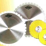 Алмазные диски по бетону, асфальту фото
