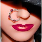 Медицинский пирсинг пупка, языка, губы, брови, носа, сосков фото