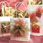 Пакеты подарочные фото