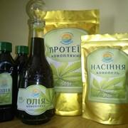 Конопляное масло фото