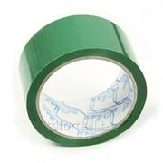 Клейкая лента зеленая 48мм х 50м / 45мкм, арт. 4567 фото