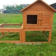Деревянный домик для кроликов (2) и для карликовых кур фото