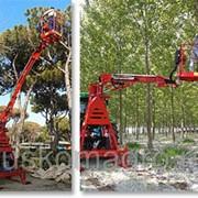 Подъёмная рабочая платформа для трактора TRT9000 фото