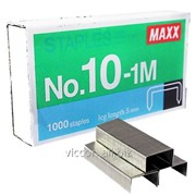 Скобы для степлера №10, maxx, 1000 шт. 1-m N10-1M фото