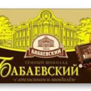 Шоколад Бабаевский с апельсином и миндалем фото