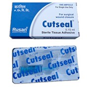 Клейкая ткань для закрытия хирургических ран Cutseal фото