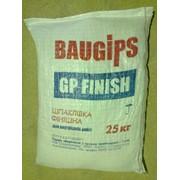 """Шпаклевка финишная гипсовая """"BauGips"""" - 25 кг. фото"""