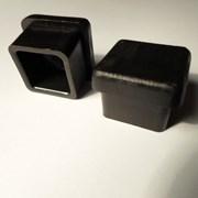 Заглушка внутренняя трубная,квадратная,20х20 фото