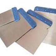 Набор шпателей 4шт. (50-80-100-120мм) металлические 27231 фото