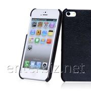 Чехол Hoco for iPhone 5/5S Duke Back case Leather Black (HI-BL006B), код 46372 фото
