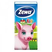 Носовые платки Zewa детские, 10шт фото