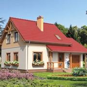 Каркасно-щитовые дома по проекту фото