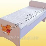 Ліжко дитяче кольорове фото