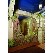 Водопады по стеклу, зеркалу и камню фото