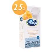 Молоко ультрапастеризованное жирность 2,5%