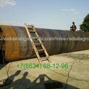 Намотка на катушку резервуара 1000 м3 фото