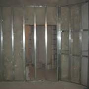 Отделка стен гипсокартоном с монтажем каркаса фото