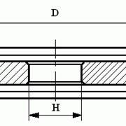Круги из кубического нитрида бора (КНБ) на керамической связке формы 9АЗ фото