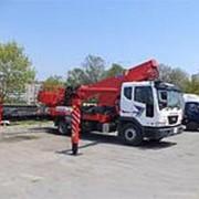 Аренда автовышек 14-32метров в Омске фото