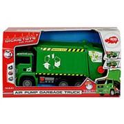 Машина пластиковая DICKIE 3805000 Мусоровоз с контейнером AirPump фото