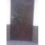 Двери металлические кованые фото