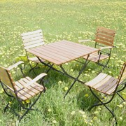 Мебель садовая-складная фото