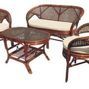 Комплект плетеной мебели Latte 02-15 фото