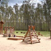 Площадка детская деревянная фото