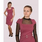 Трикотажное платье ТП-786 фото