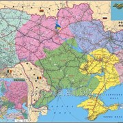 Схема залізниць України фото