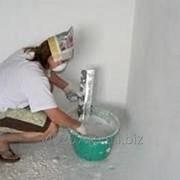 Шпаклевание стен под покраску в/э (под обои) до 3 мм фото