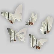Декоративное Зеркало Lacky Mirror Бабочки фото