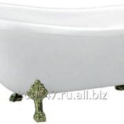 Комплект Ванна акриловая BELBAGNO ВВ04 + Кронштейны BB04-SUP + Ножки BB-LEG-LION-BRN фото