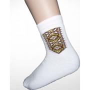 Шкарпетки зимові вишиті чоловічі 3688 фото