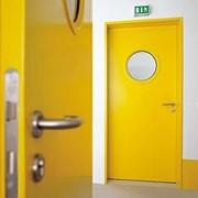 Противопожарная дверь DoorHan одностворчатая 890х2140 мм фото