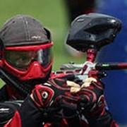 Стрелковые соревнования по пейнтболу фото