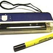 Скрытая маркировка УФ-фонарь и маркер фото