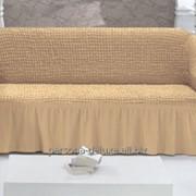 Чехол на 3 местный диван универсальный фото