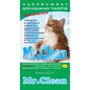 Наполнитель силикагелевый Mr. Clean 3,8 л. лаванда фото