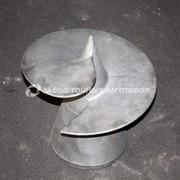Литые наконечники для винтовых свай 350/219 фото