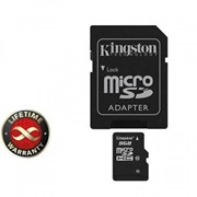 Карта памяти 8Gb microSDHC class 10 Kingston (SDC10G2/8GB) фото