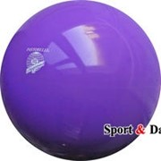 Мяч фиолетовый,18см, вес 400 гр. фото