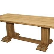 Стол обеденный (массив дуба) фото